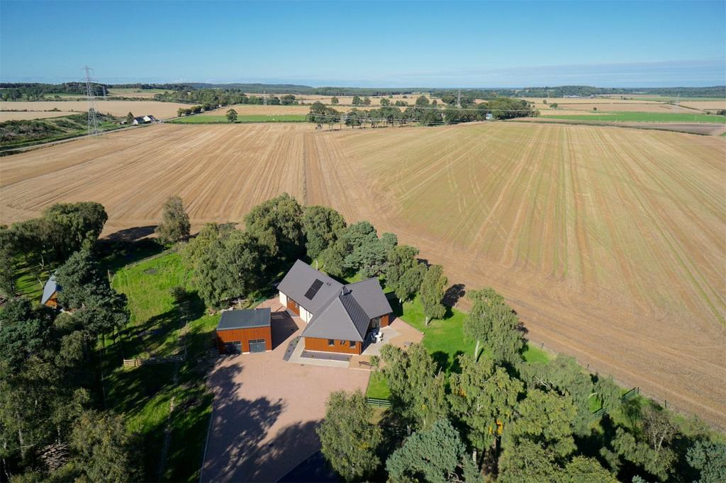 4 Bedrooms Detached House for sale in Birchlea, Inchberry, Fochabers, Moray, IV32