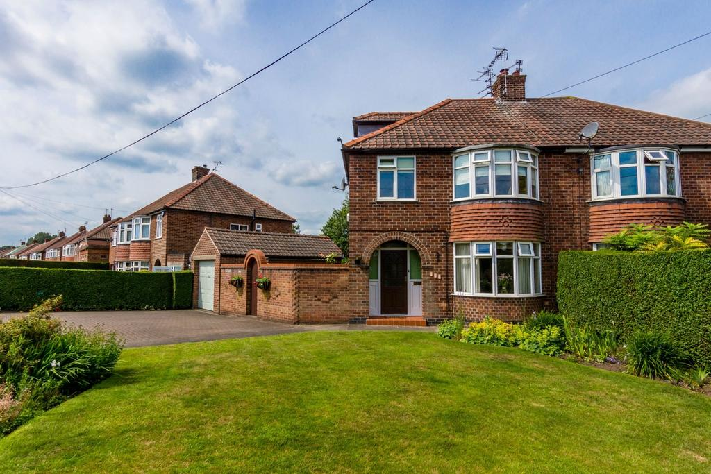 4 Bedrooms Semi Detached House for sale in Carr Lane, Acomb, YORK