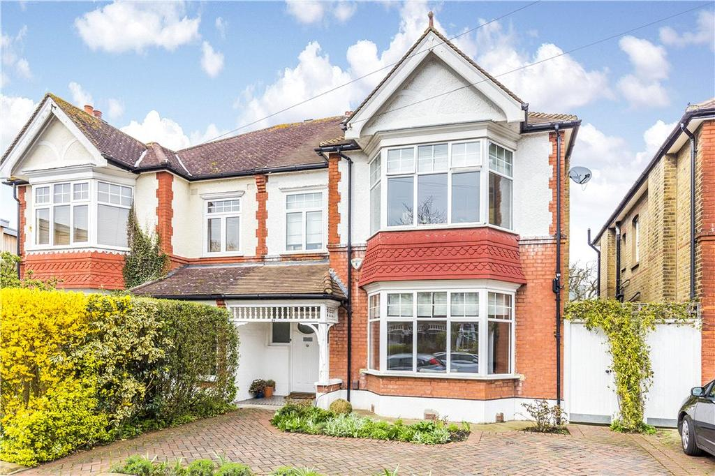 4 Bedrooms Semi Detached House for sale in Manor Gardens, Merton Park, London, SW20