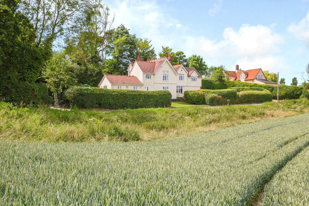 4 Bedrooms Detached House for sale in Bures Road, Lamarsh, Bures, Essex, CO8