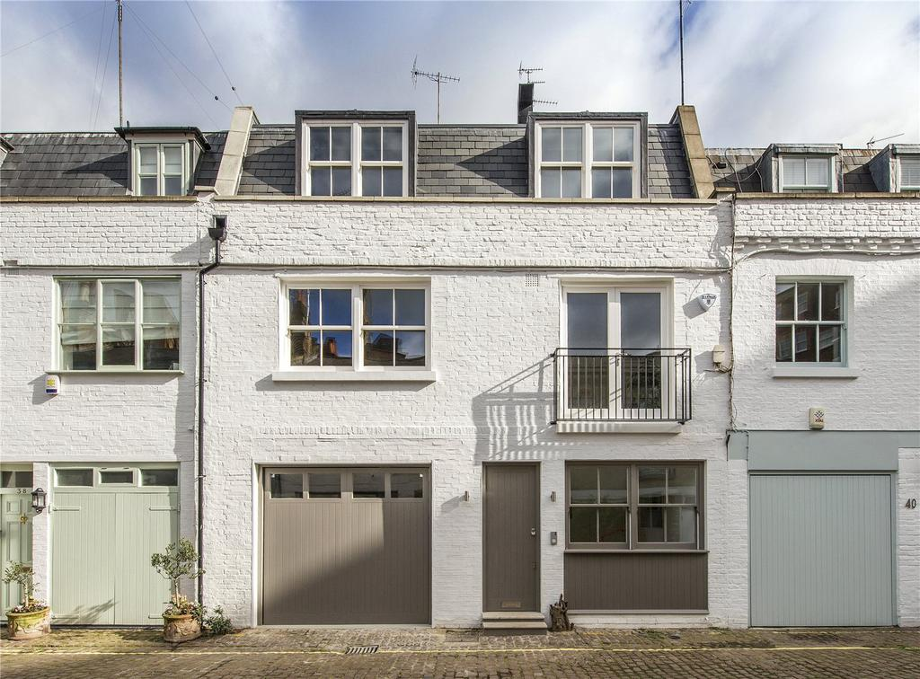 3 Bedrooms Mews House for sale in Lancaster Mews, Lancaster Gate, London, W2