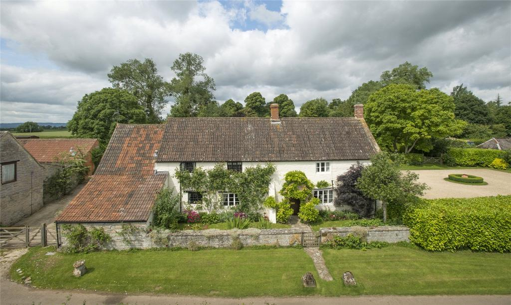 5 Bedrooms Detached House for sale in Lower Swell, Fivehead, Taunton, Somerset, TA3