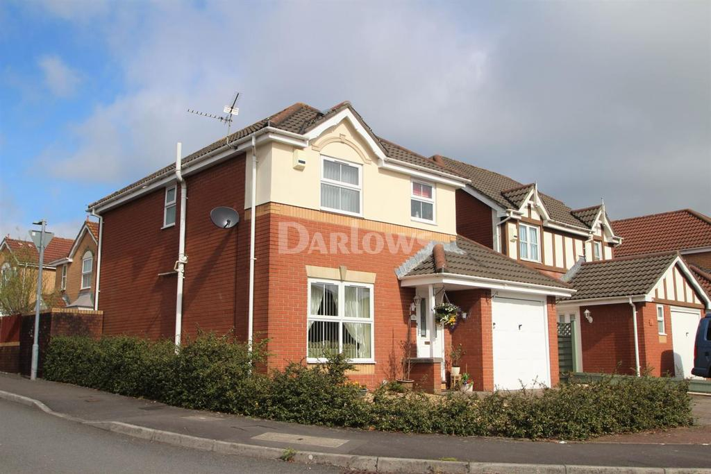 3 Bedrooms Detached House for sale in Lascelles Drive, Pontprennau, Cardiff