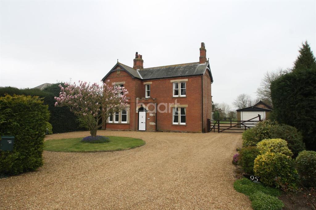 4 Bedrooms Detached House for sale in Tilney St Lawrence