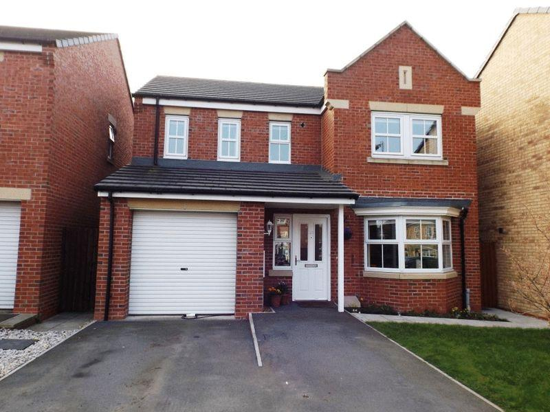 4 Bedrooms Detached House for sale in Beaumont Court, Pegswood