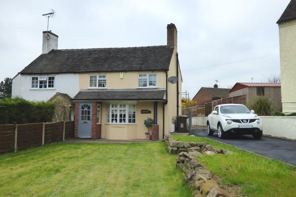 3 Bedrooms Semi Detached House for sale in High Street, Hixon, Stafford