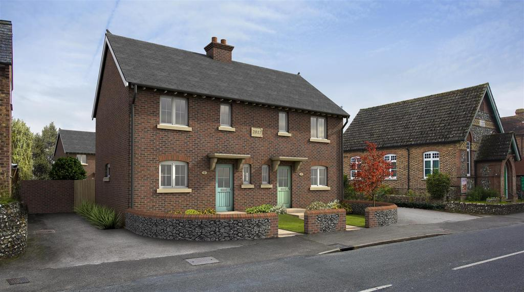 3 Bedrooms Semi Detached House for sale in The Street, Walberton