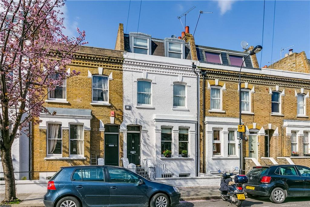4 Bedrooms House for sale in Kilmaine Road, London, SW6
