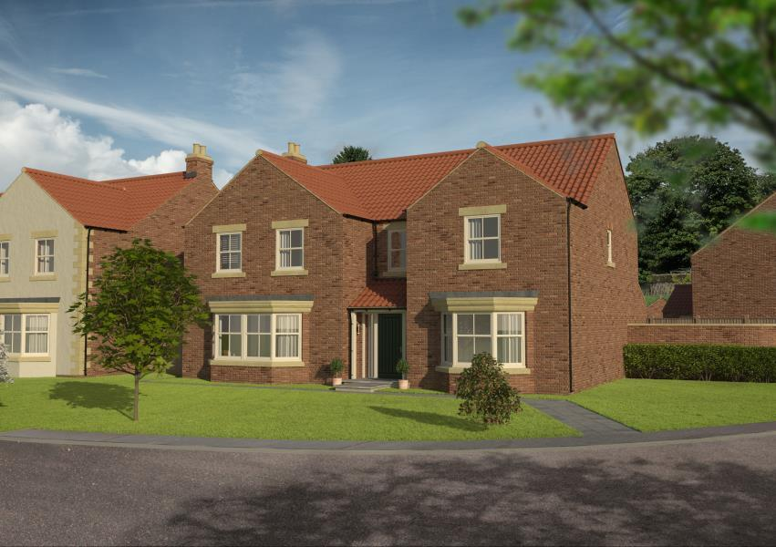 5 Bedrooms Detached House for sale in ROWAN HOUSE, CORNER FARM, COPT HEWICK, HG4 5BY