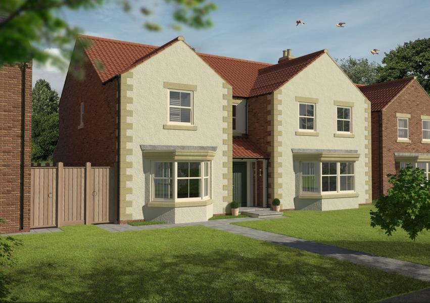 5 Bedrooms Detached House for sale in LARCH GATE, CORNER FARM, COPT HEWICK HG4 5BY