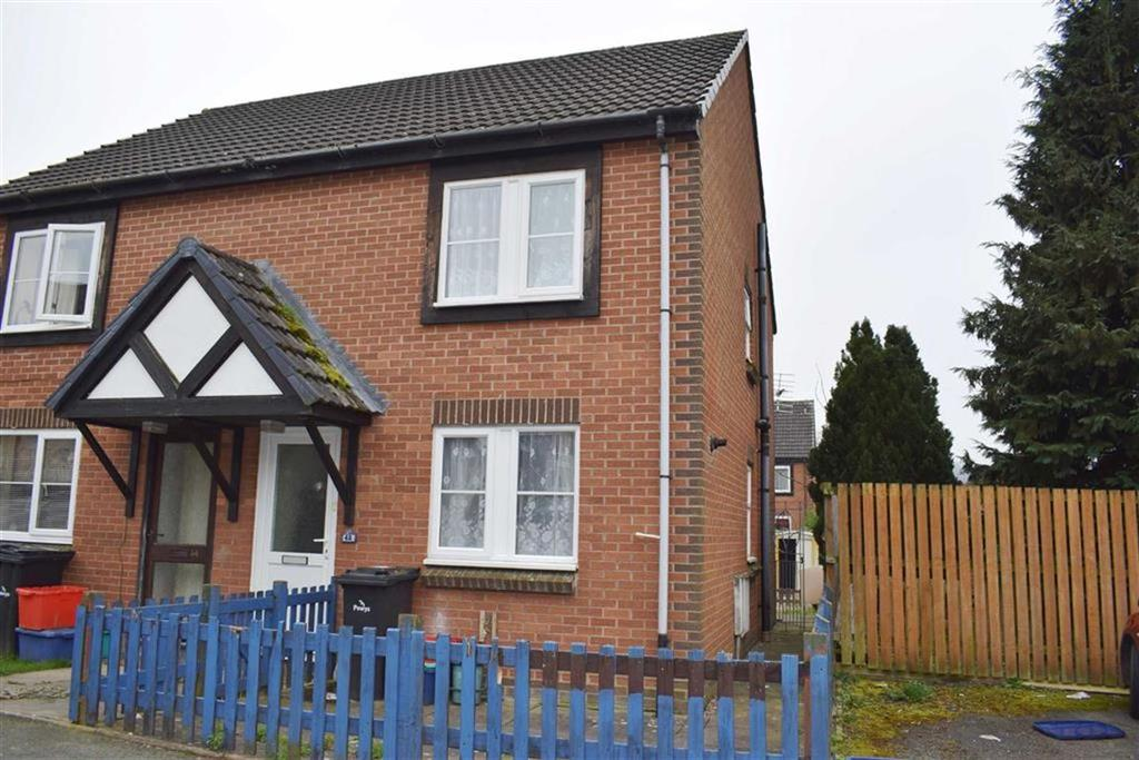3 Bedrooms Semi Detached House for sale in 42, Glandwr, Vaynor, Newtown, Powys, SY16