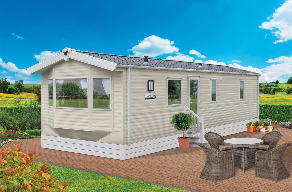 2 Bedrooms Chalet House for sale in Bude