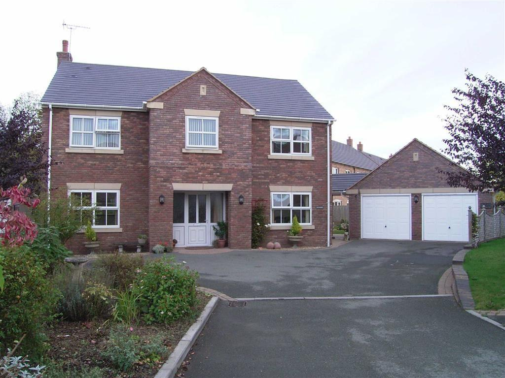 4 Bedrooms Detached House for sale in Rivendell, The Brambles, Crew Green, Powys, SY5