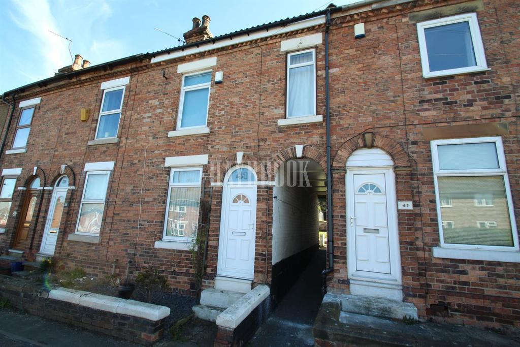2 Bedrooms Terraced House for sale in Westthorpe Road, Killamarsh