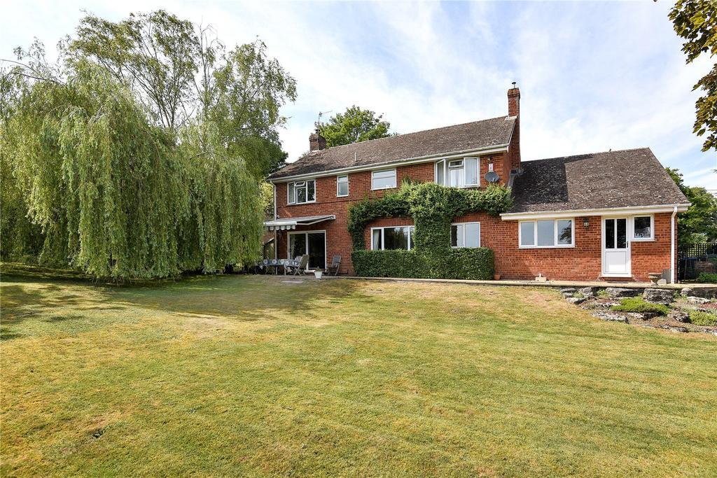 5 Bedrooms Detached House for sale in Bath Road, Fyfield, Marlborough, Wiltshire