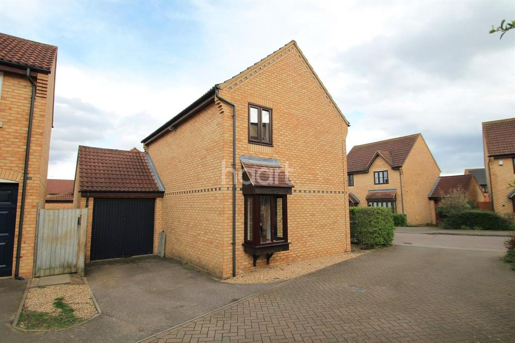 3 Bedrooms Detached House for sale in Abbeydore Grove, Monkston