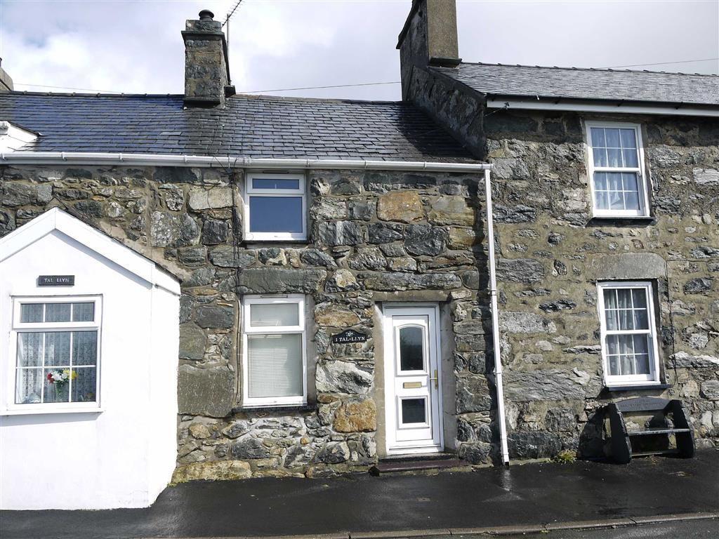 2 Bedrooms Terraced House for sale in Talyllyn, Garndolbenmaen