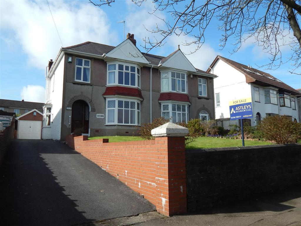 3 Bedrooms Semi Detached House for sale in Clasemont Road, Morriston, Swansea