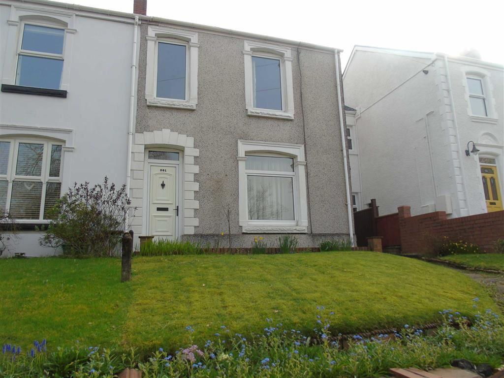 3 Bedrooms End Of Terrace House for sale in Clasemont Road, Morriston, Swansea