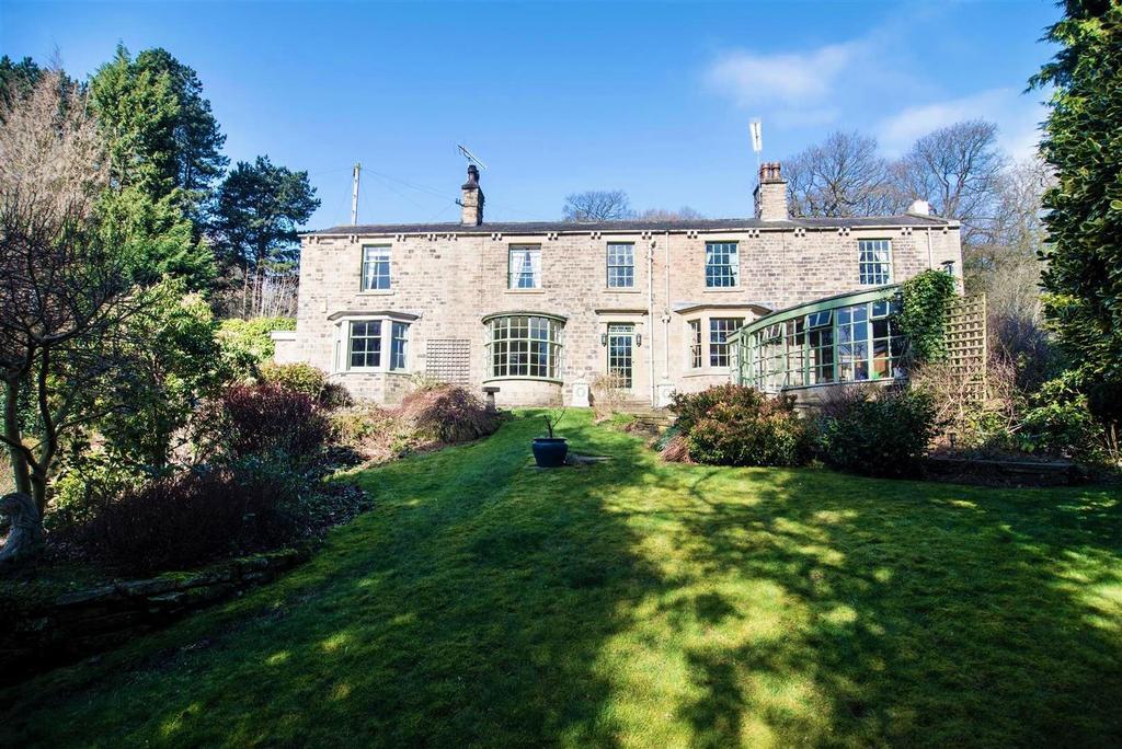 4 Bedrooms Detached House for sale in Wakefield Road, Scissett, Huddersfield, HD8 9JZ