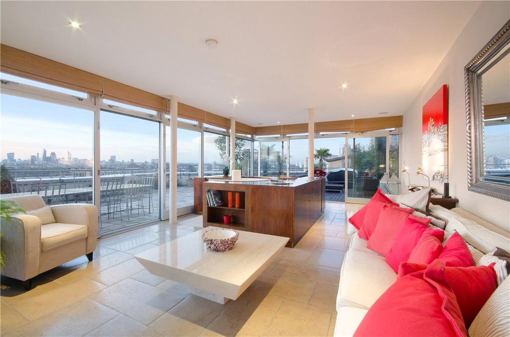 3 Bedrooms Penthouse Flat for sale in Pierpoint Building, 16 Westferry Road, London, E14