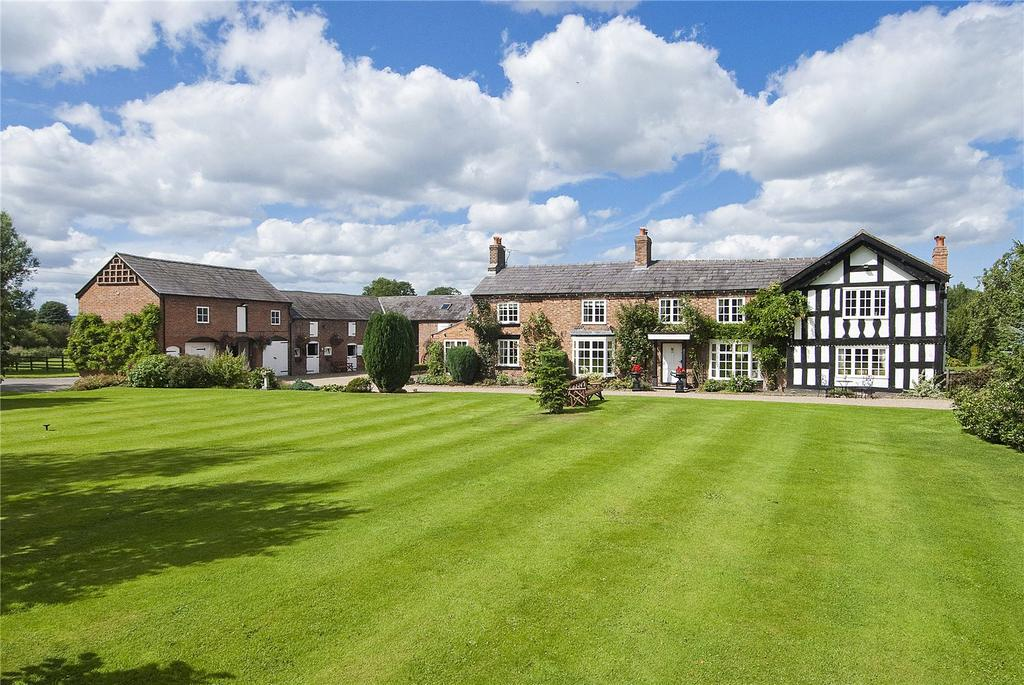 6 Bedrooms Detached House for sale in Faddiley, Nr Nantwich, Cheshire, CW5
