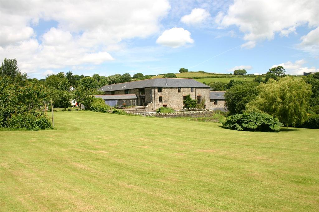 6 Bedrooms Barn Conversion Character Property for sale in Combe Farm, Aveton Gifford, Devon, TQ7