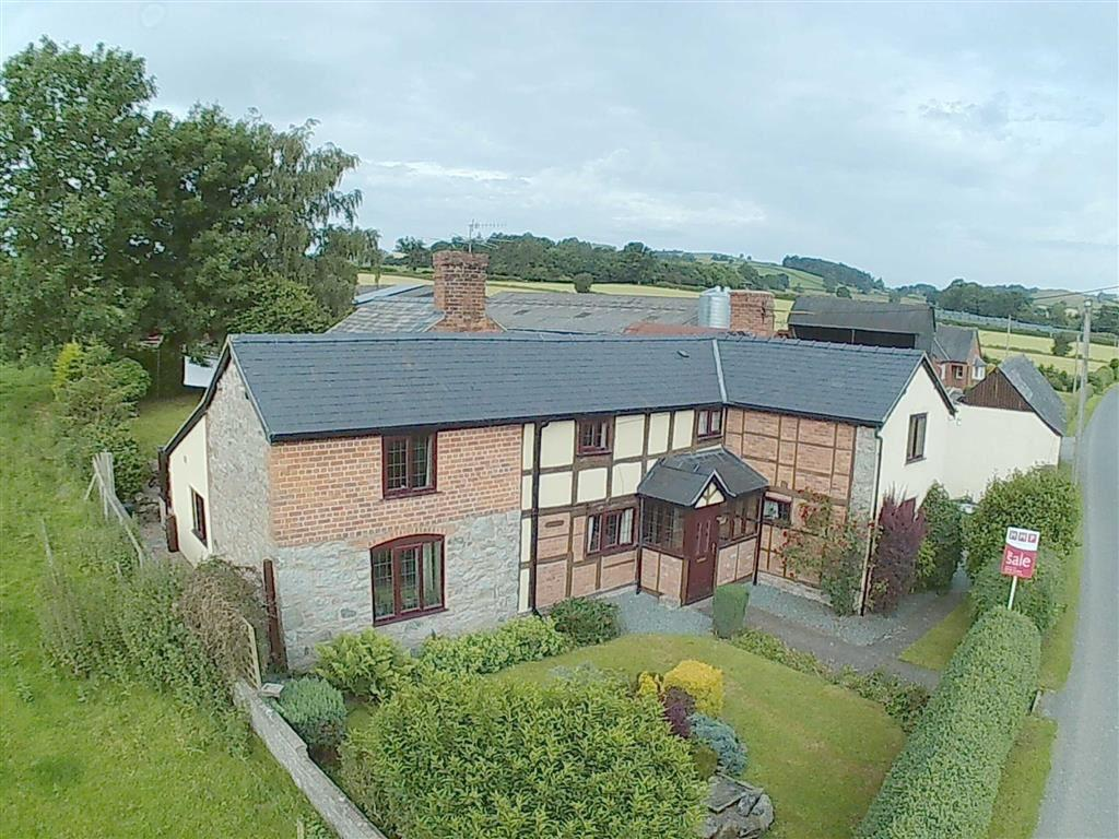 4 Bedrooms Detached House for sale in Cockshutt, Montgomery, Powys, SY15