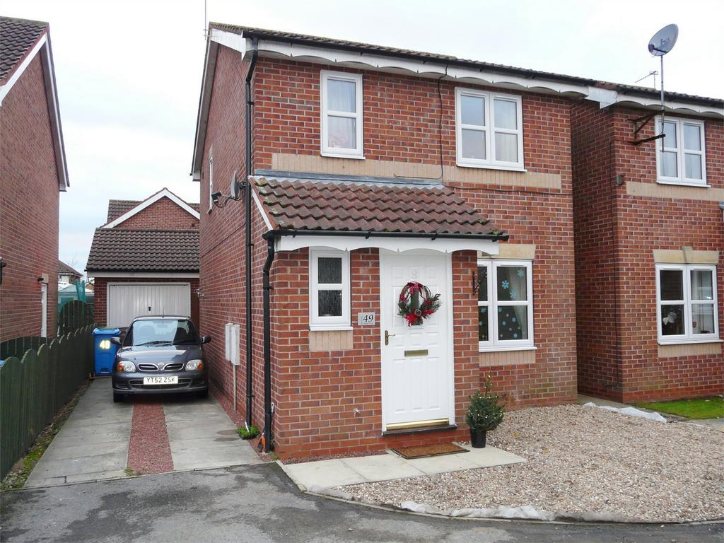 3 Bedrooms Detached House for sale in Harper Close, Pocklington, York