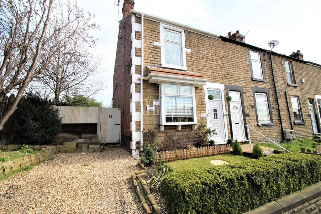 2 Bedrooms End Of Terrace House for sale in Straight Lane, Goldthorpe