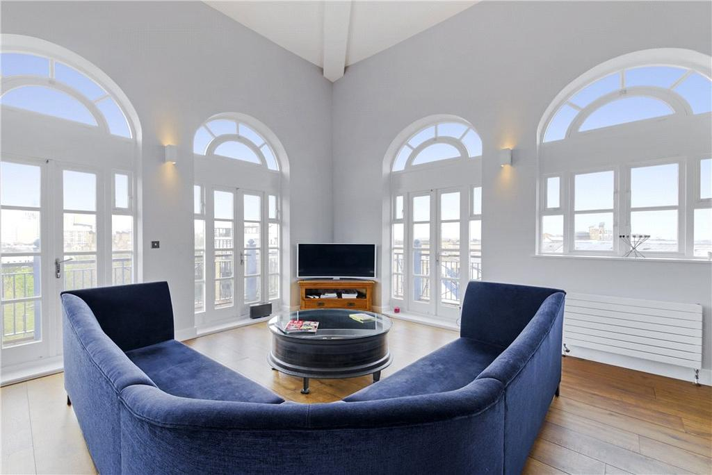 3 Bedrooms Penthouse Flat for sale in Imperial House, 9 Victory Place, Limehouse, London, E14