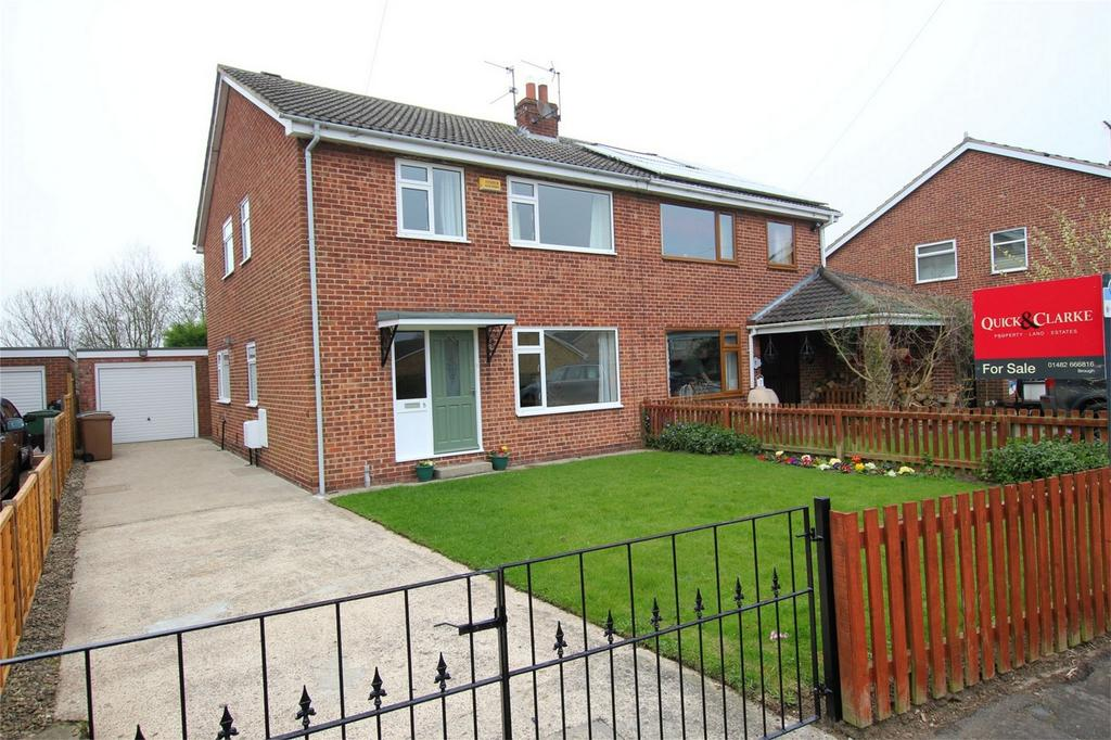 4 Bedrooms Semi Detached House for sale in Grebe Road, Newport, East Riding of Yorkshire
