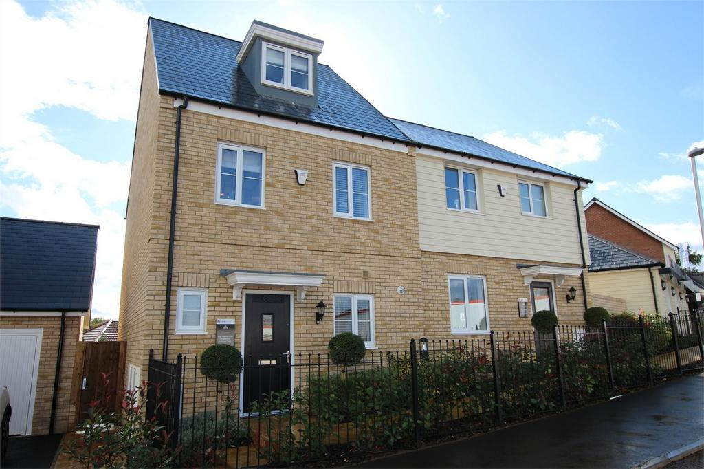 3 Bedrooms Terraced House for sale in Tall Trees, Biggleswade Road, Potton, Bedfordshire