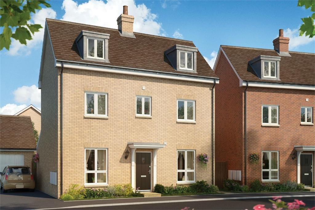 4 Bedrooms Semi Detached House for sale in Tall Trees, Bigglewade Road, Potton, Bedfordshire