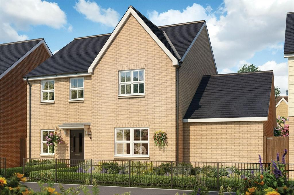 4 Bedrooms Detached House for sale in Tall Trees, Biggleswade Road, Potton, Bedfordshire