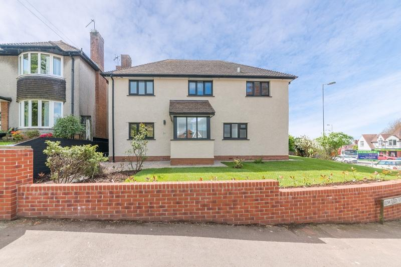 4 Bedrooms Detached House for sale in Edward Vii Avenue, Newport, Newport. NP20 4NH