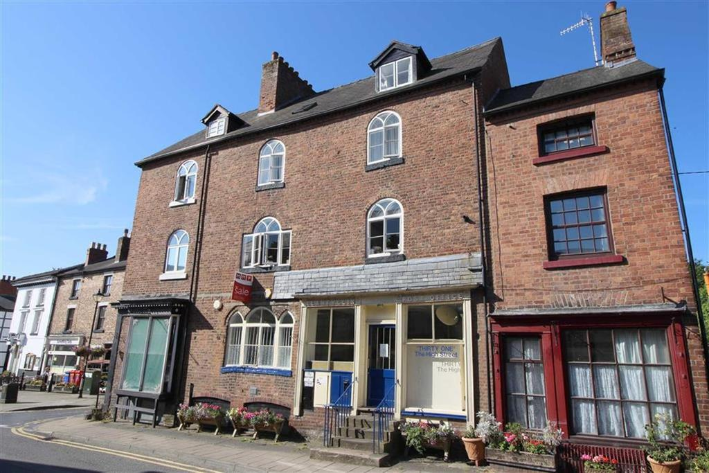 5 Bedrooms Terraced House for sale in The Old Post Office, 31, High Street, Llanfyllin, Powys, SY22