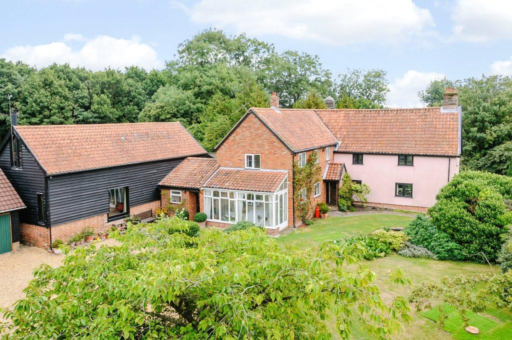 4 Bedrooms Detached House for sale in Halesworth Road, Redisham, Beccles, Suffolk