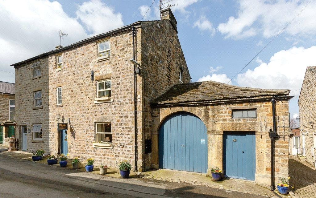 3 Bedrooms Semi Detached House for sale in Millgate, Masham, Near Ripon, North Yorkshire, HG4