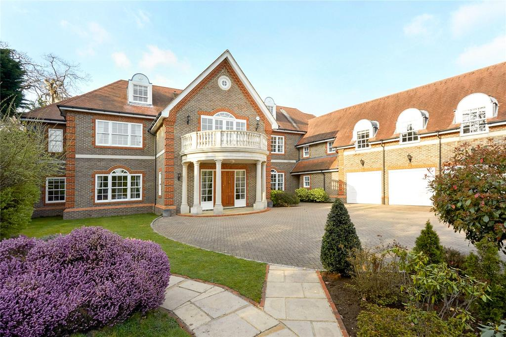 6 Bedrooms Detached House for sale in Meadway, Esher, Surrey, KT10
