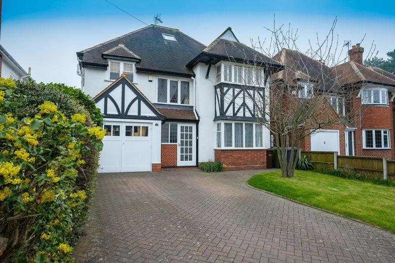 4 Bedrooms Detached House for sale in Wrottesley Road, Tettenhall, Wolverhampton