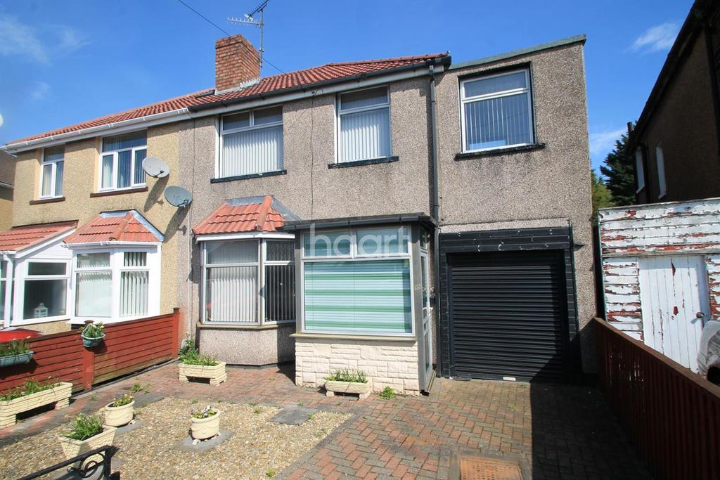 3 Bedrooms Semi Detached House for sale in Thompson Avenue, Newport