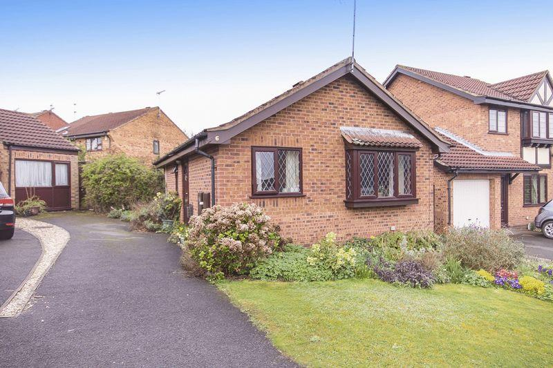2 Bedrooms Detached Bungalow for sale in REDWING CROFT, DERBY.