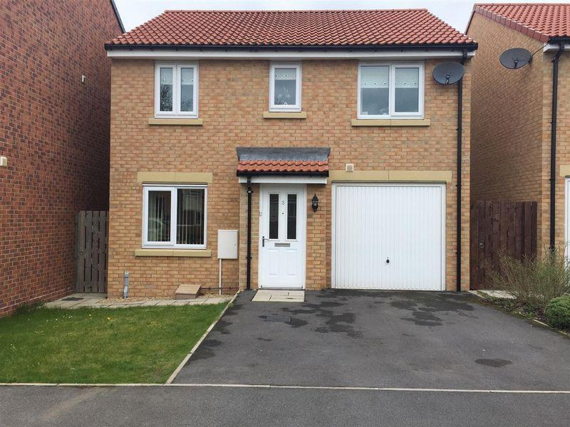 3 Bedrooms Detached House for sale in Copernicus Close, Cramlington