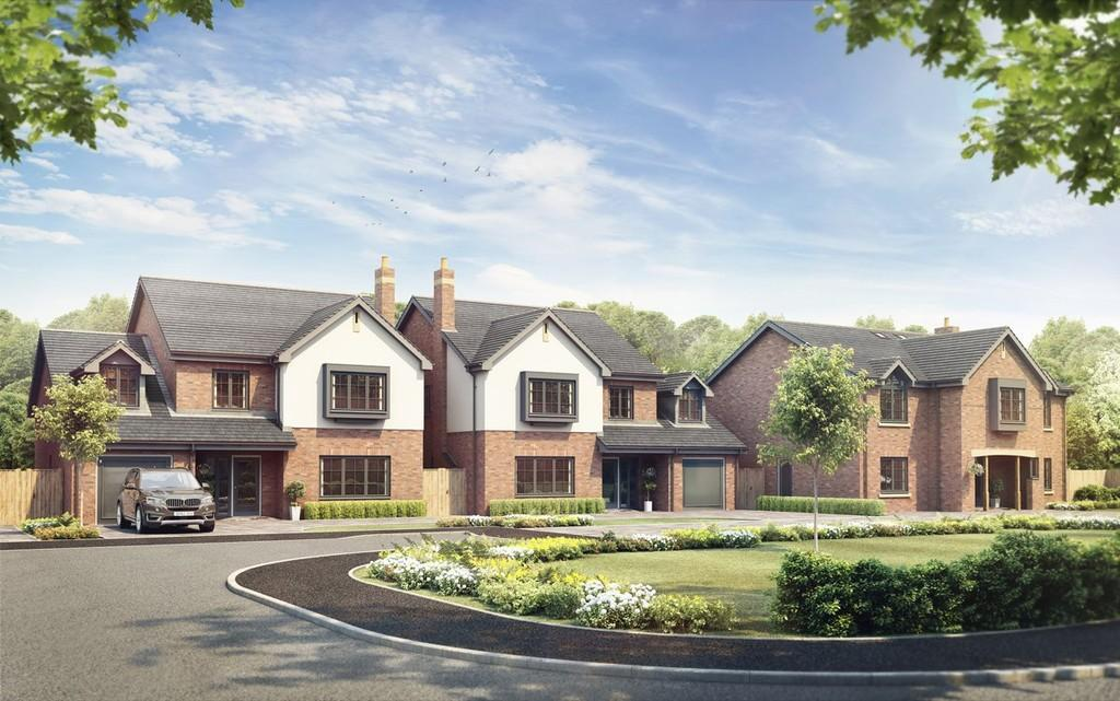 4 Bedrooms Detached House for sale in Hankelow, Cheshire