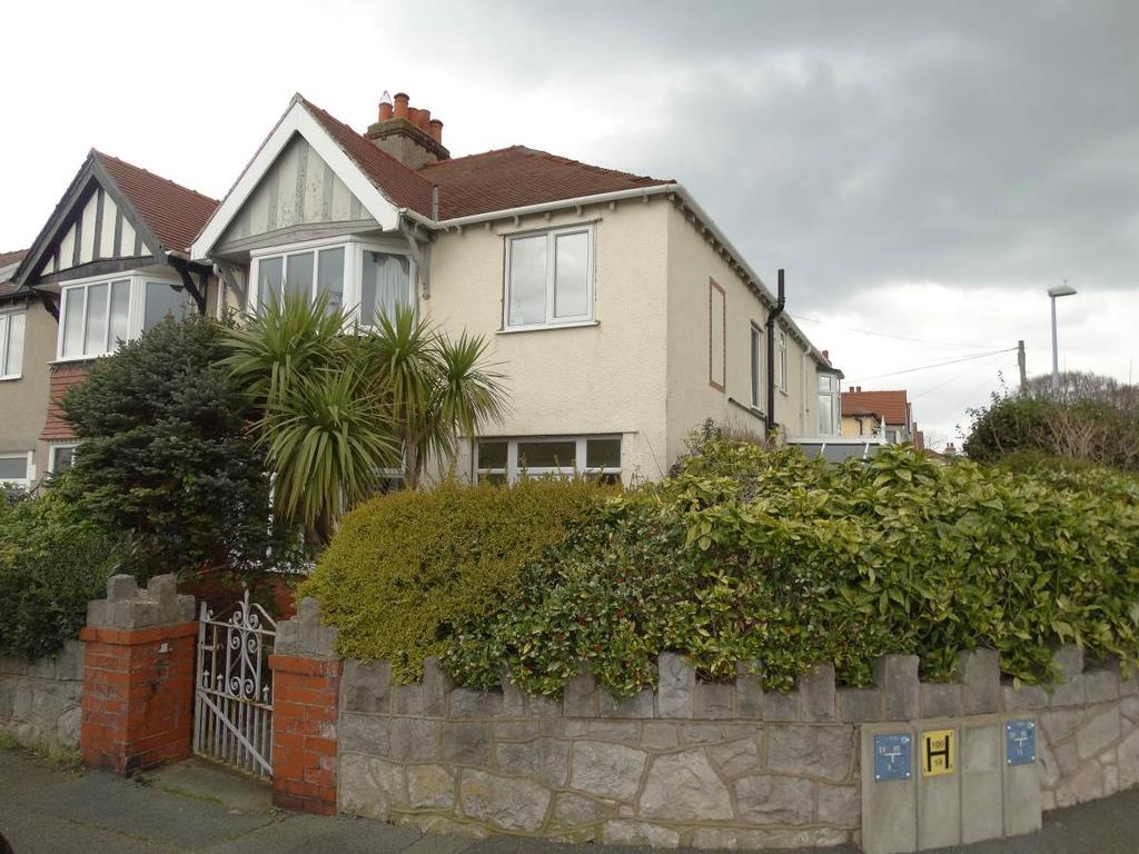5 Bedrooms Semi Detached House for sale in 6 Berthes Road, Old Colwyn, LL29 9SL