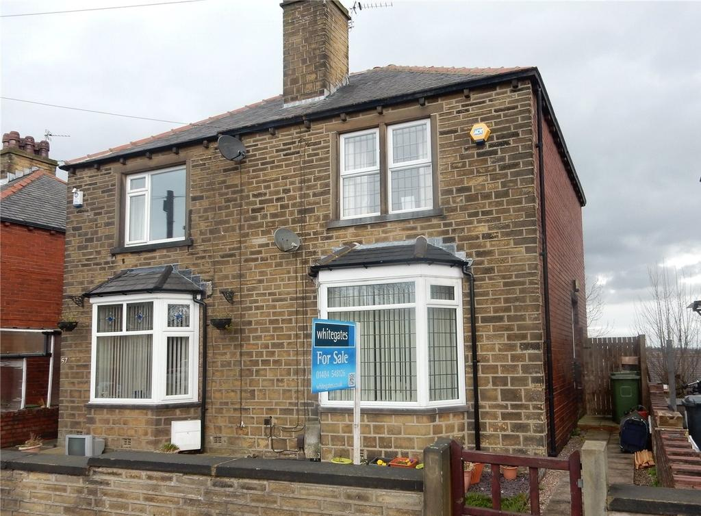 2 Bedrooms Semi Detached House for sale in Nabcroft Lane, Crosland Moor, Huddersfield, HD4