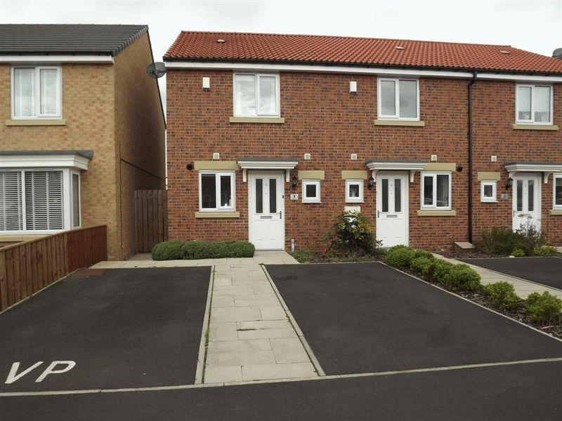 2 Bedrooms End Of Terrace House for sale in Corinto Close, Cramlington