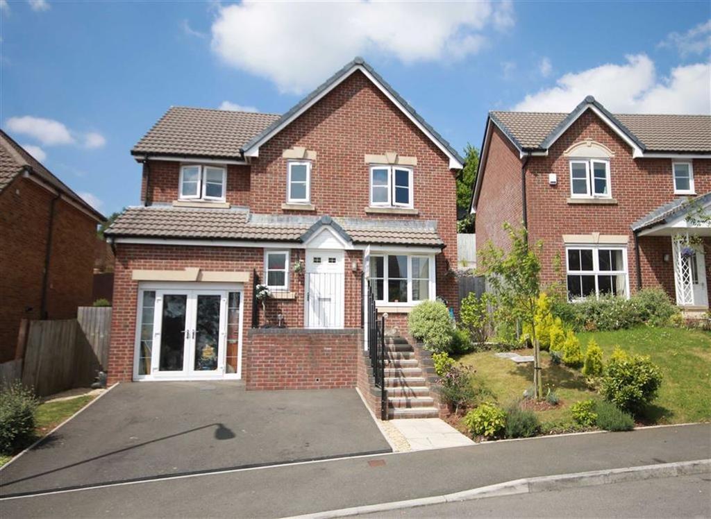 4 Bedrooms Detached House for sale in Heol Cwarrel Clark, Caerphilly, CF83
