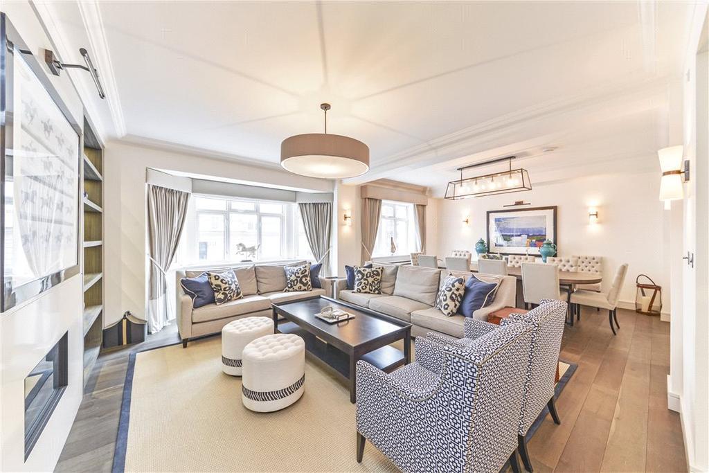 4 Bedrooms Flat for sale in Kingston House South, Ennismore Gardens, Knightsbridge, London, SW7